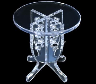 Plexiglass factory customize acrylic furniture lucite coffee table
