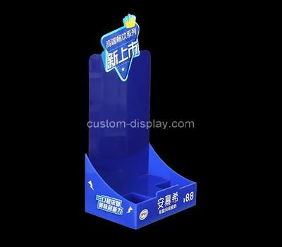 Perspex factory customize acrylic milk display stand plexiglass display holder