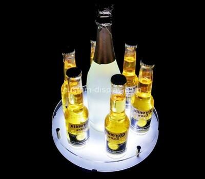 Acrylic manufacturer customize plexiglass wine bottles display stands